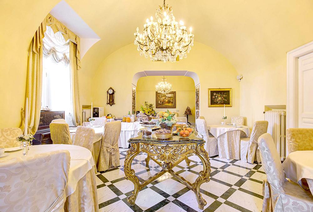 Sala colazione - Relais La Rupe Sorrento
