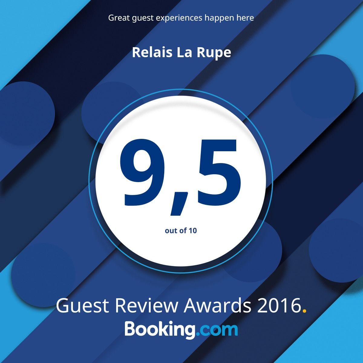 Booking Award 2016