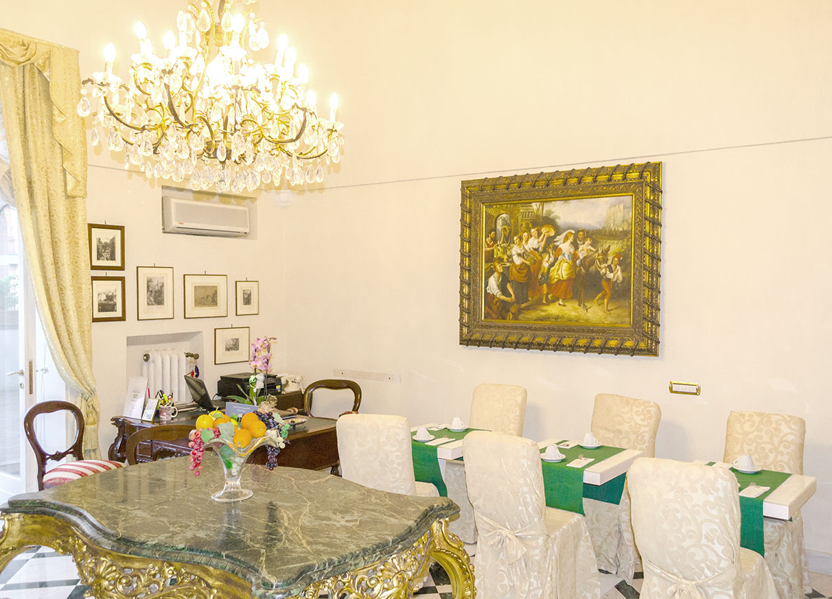 Relais La Rupe Sorrento - Breakfast hall