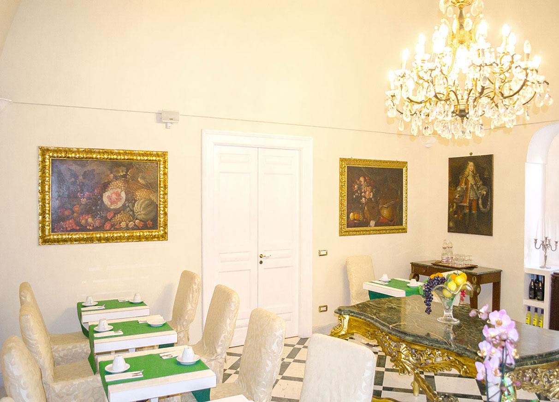Relais La Rupe Sorrento - Breakfast hall