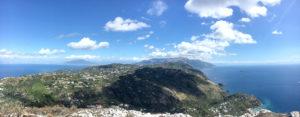 La Penisola Sorrentina vista da Monte San Costanzo