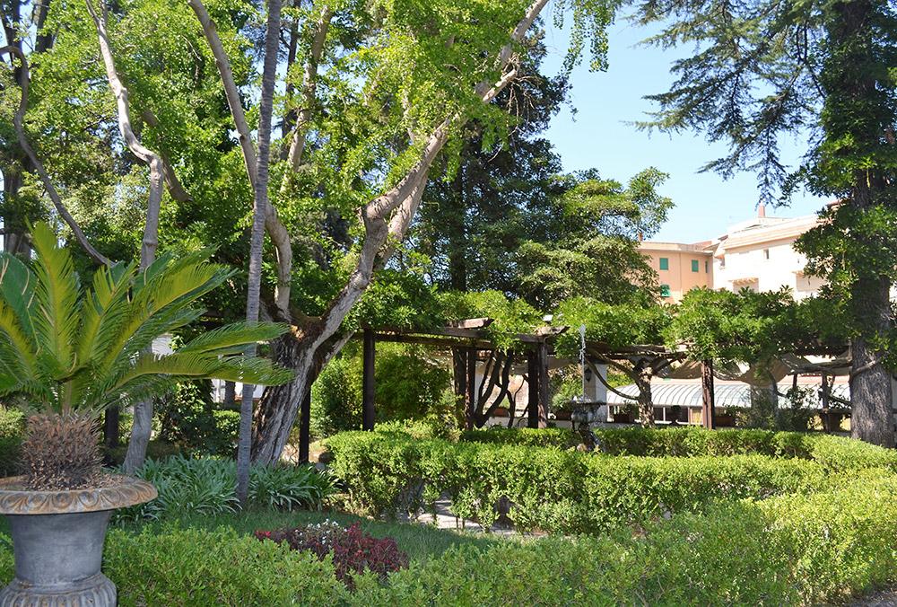 Private park in Sorrento