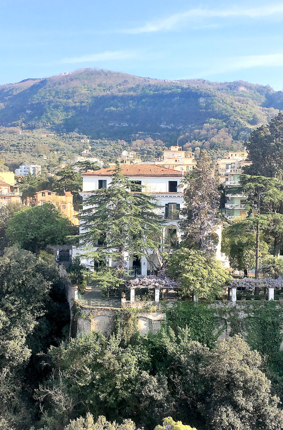 """La Rupe Relais is located on a Valley know as """"Valley of Mills"""""""