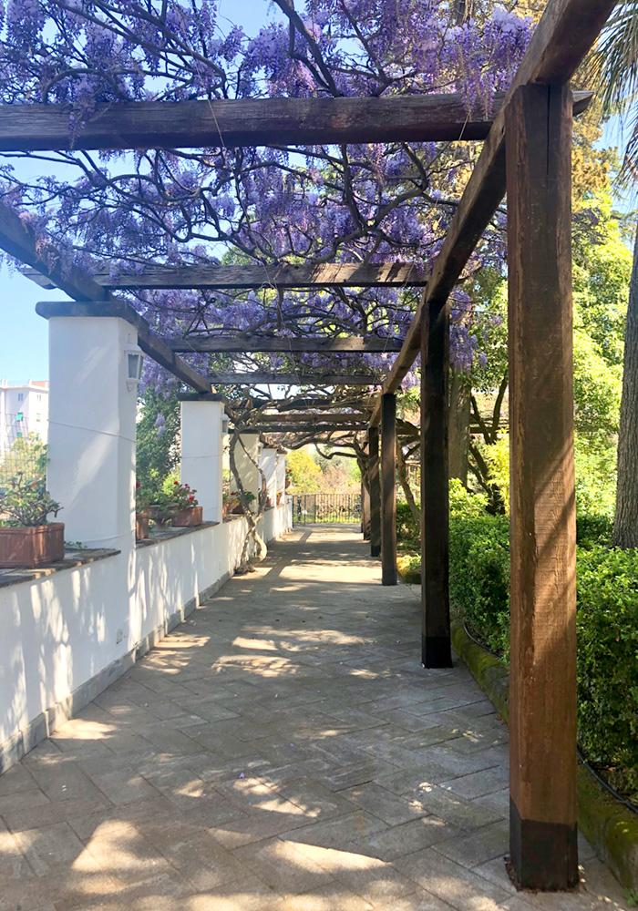 Private garden in Sorrento - Relais La Rupe